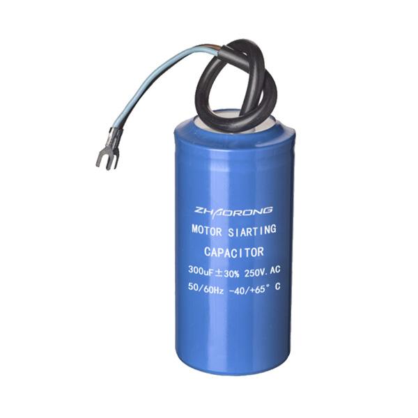 CD60 300UF 250V 铝壳电缆+端子